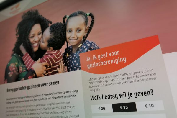 vluchtelingenwerk campagne